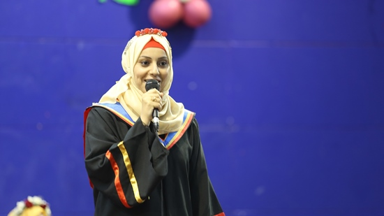Samah outlines for her dream, and the Islamic university makes it true
